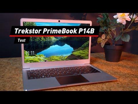 Trekstor PrimeBook P14B im Test: Top-Design für Sparer
