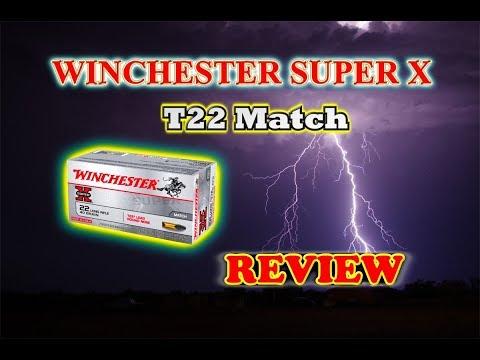 Ammunition Review: Winchester Super-X T22 Match