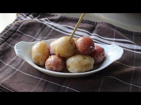 Syracuse Salt Potatoes - New Potatoes Boiled in a Salt Brine