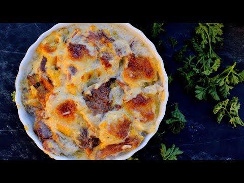 Keto Recipe - Ham & Cheese Bake