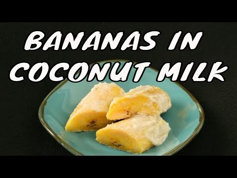 Gollai appan aga or bananas in coconut milk