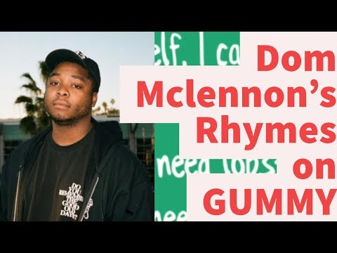 Rap Tips from Dom McLennon's Gummy- Rhyme Schemes Analysis