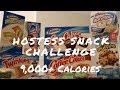 Hostess Snack Challenge | Girl Vs  Food (9,000+ Calories)