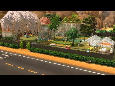 Community Garden  || Speed Build || The Sims 4