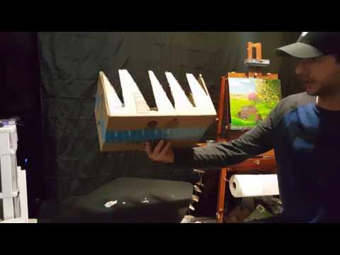 Diy canvas drying rack 0$