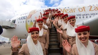 Emirates A380 welcomes record visitors at ILA Berlin 2018   Emirates Airline
