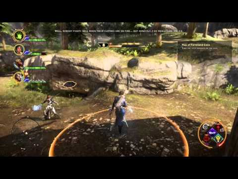 Vivienne offering Iron Bull help - Dragon Age: Inquisition