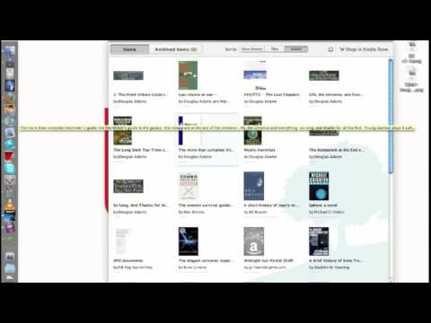 Kindle For Mac Review