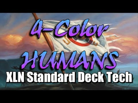Mtg Deck Tech: 4-Color Humans in Ixalan Standard!