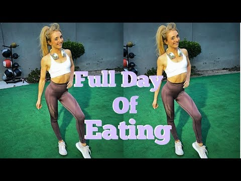Full Day of Eating On a Bulk| How I Eat 510g Carbs & 3,600 Calories Per Day