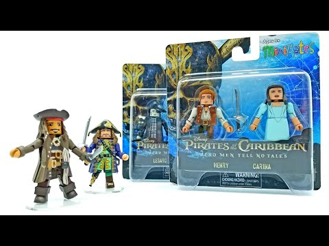 PIRATES of the CARIBBEAN Minimates Complete Set! Dead Men Tell No Tales