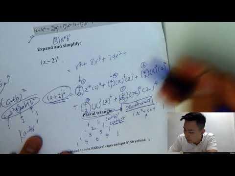 【IB MATH SL/HL 】How to ACE IB Binomial Expansion in 10 MINS!  l HKEXCEL