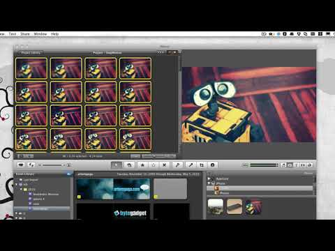 Stop Motion Tutorial (iMovie 11)