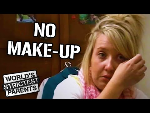 Mom Won't Let Teen Wear Make Up To School   World's Strictest Parents