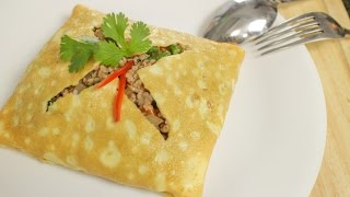 Thai Stuffed Omelette Recipe ไข่ยัดไส่ - Hot Thai Kitchen!