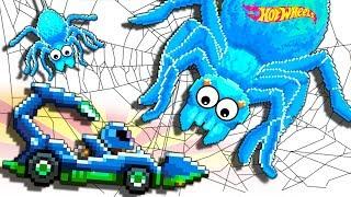Машинки Хот Вилс в игре Drive Ahead БИТВА С ГИГАНТСКИМИ ПАУКАМИ Игра про МАШИНКИ Драйв Ахед от FGTV