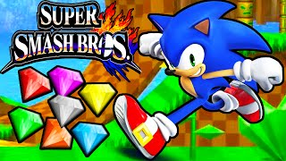Super Smash Bros 4 3DS: Sonic Speed! Character Unlock Classic Core Gameplay Walkthrough PART 3