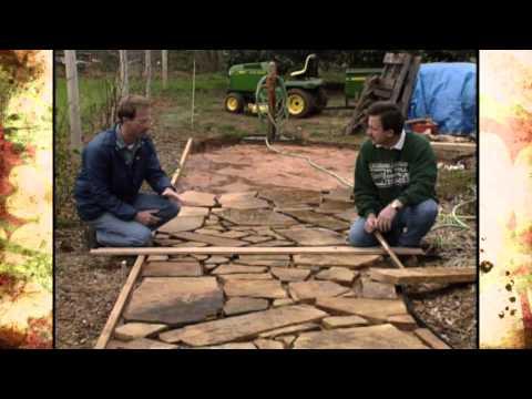 Garden Pathways: Crazy Pavers