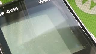 yaesu vr-5000 display problems