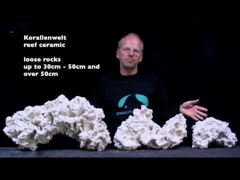 reef ceramic - lose rocks