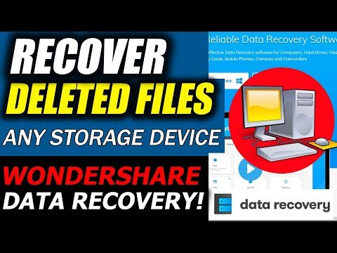 How to Recover Lost Files from USB/hard drive/SD Card/PC/Mac with Wondershare Data Recovery?