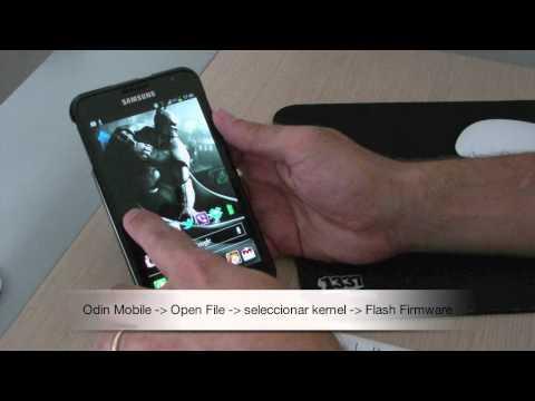 Flash Kernel via Odin Mobile