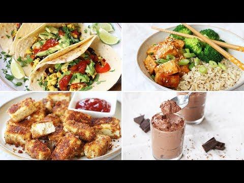 VEGAN MADE EASY | HOW TO COOK & USE TOFU (5 WAYS)