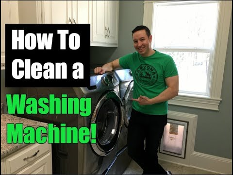 How To Clean a Washing Machine In 3 Easy Steps!