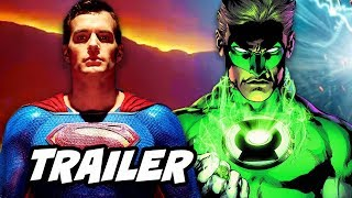 Superman Krypton Episode 1 Trailer - Green Lantern and Justice League Characters Breakdown