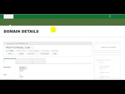How to Change Nameservers of a Domain Name inside Godaddy