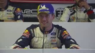 WRC - Wales Rally GB 2018: Post-Event Press Conference