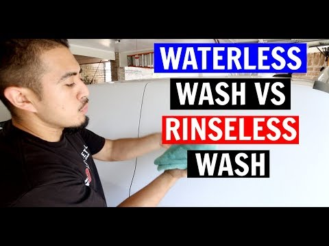 Waterless Wash vs Rinseless Wash - Which One Is Better?