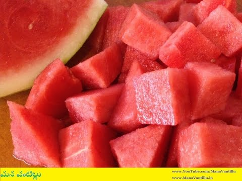 How to Cut a Watermelon and Best Ways in Cutting Watermelon