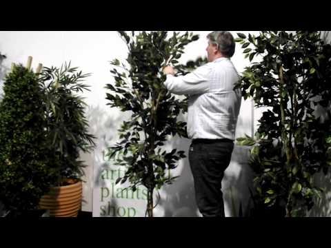 Shaping an artificial Tree
