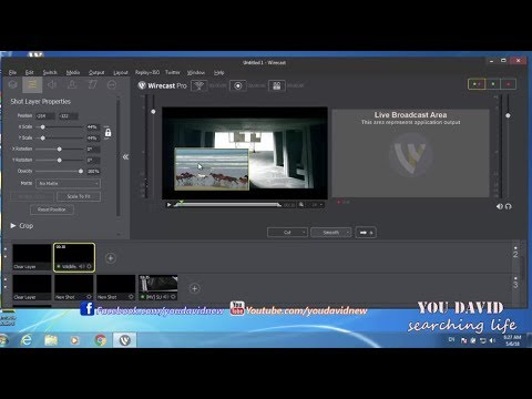 How to Wirecast Live Stream Lesson 1