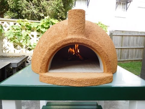 New Easy Build Pizza Oven ''First Lighting''