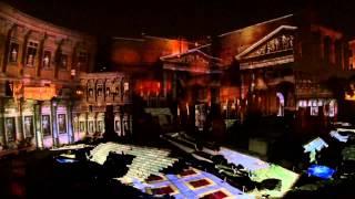 Lo spettacolo sui Fori Imperiali - Foro di Augusto di Piero Angela