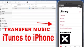 ♫ ♫ How to Transfer Music From iTunes to iPhone, iPad, iPod ♫ ♫ (2019)