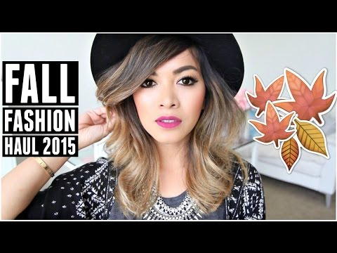 Fall Fashion Try On Haul 2015 Urban Outfitters Forever 21 Hm
