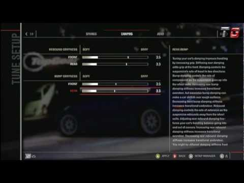 FM4 - How to Build a Drift Car in Forza Motorsport 4 - Part 2 Tuning