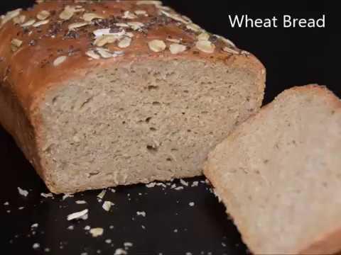 Brown Bread Recipe | Wheat Bread | Whole Wheat Bread