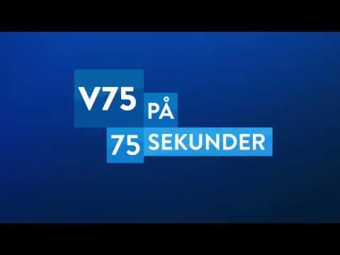 V75 på 75 sekunder - Gävle 19 maj 2018