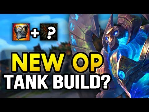 NEW OP TANK BUILD? 10,000+ HP Shield! (League of Legends)