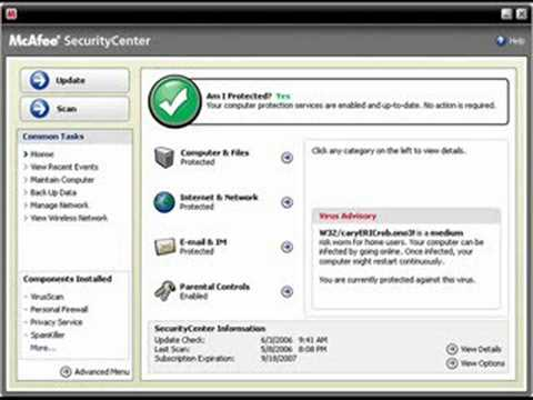 How to Download & Install McAfee Antivirus 2008 for FREE