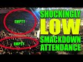 LOWEST Attendance For WWE Smackdown Live Half Empty Arena 7th May 2019 SDLive