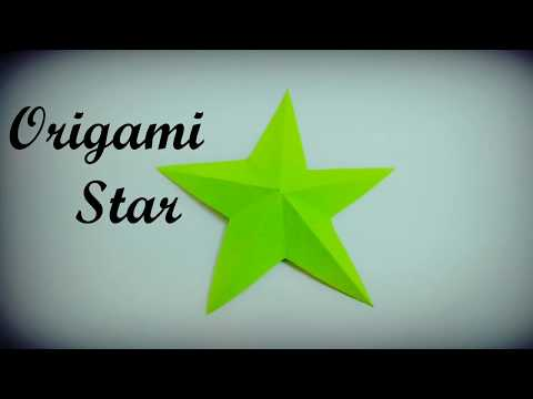 3D Origami Christmas Star🌟 | How to make | Very Easy Tutorial