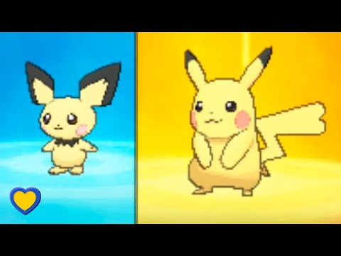 HOW TO Evolve Pichu into Pikachu in Pokemon Ultra Sun and Moon