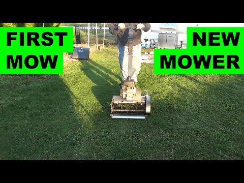 First Reel mowing with the Swardman Edwin 2.0 (at 3/4in)