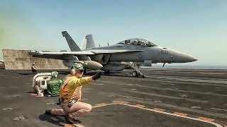 Aircraft Carrier Takeoffs & Landings