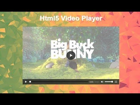 HTML5 Custom Video Player Tutorial